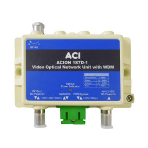 V-ONU 1 GHz with WDM Video Optical Network Unit – ACION 187D