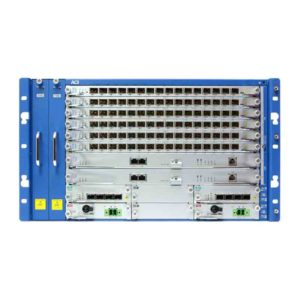 ACI Communications LT806 is a 6RU height chassis based GPON OLT system