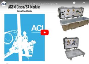 ASEM Cisco/SA 1G RF modules