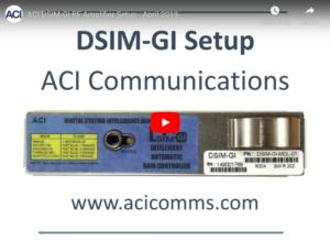DSIM-GI RF Amplifier Setup for the Motorola MB and BLE