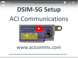 DSIM-SG Amplifier Setup for the Cisco GainMaker