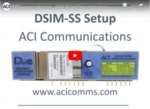 DSIM-SS Amplifier Setup SS Field Setup Instructions