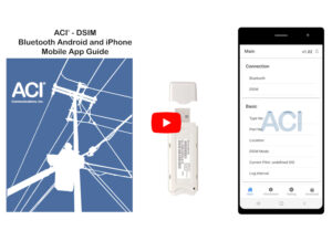 ACI DSIM Android/iOS App operating instructions